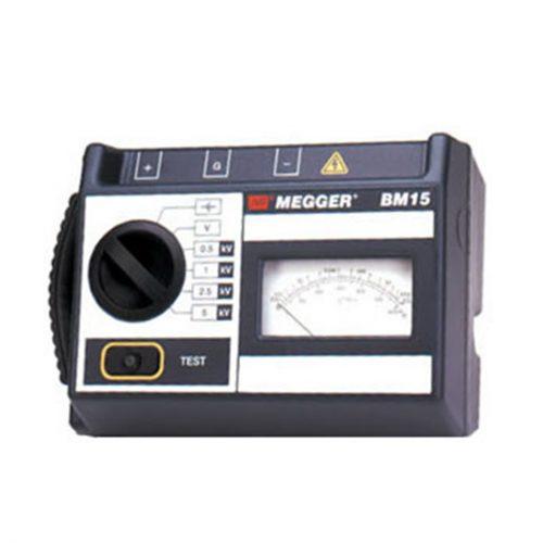 Megger BM15 5kV Insulation Tester